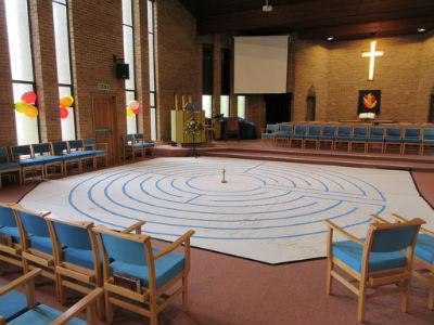 Pentecost Festival labyrinth