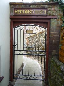 Weybourne Chapel gate