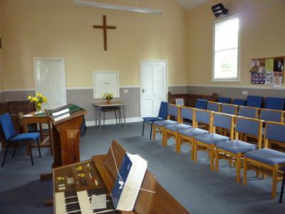 Gresham chapel - interior 3