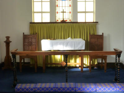 West Runton - Communion area