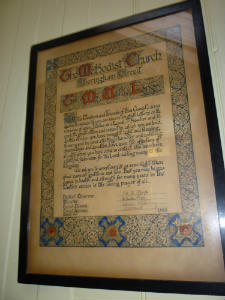 West Runton - Willie Longs Certificate
