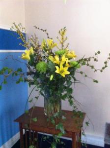 Mr & Mrs Robertson Family Flowers