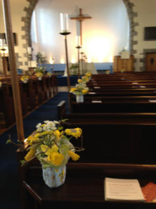 easter pew
