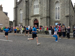 HM the Queens Commonwealth Games Baton passes St Andrews Church, Sunday June 29th 2014