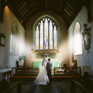 Wedding at Bishopsbourne
