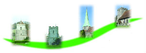 The benefice logo depicts the four towers
