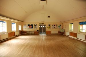 View of Church Hall from the stage