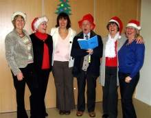 Our Albert Hall Christmas singers