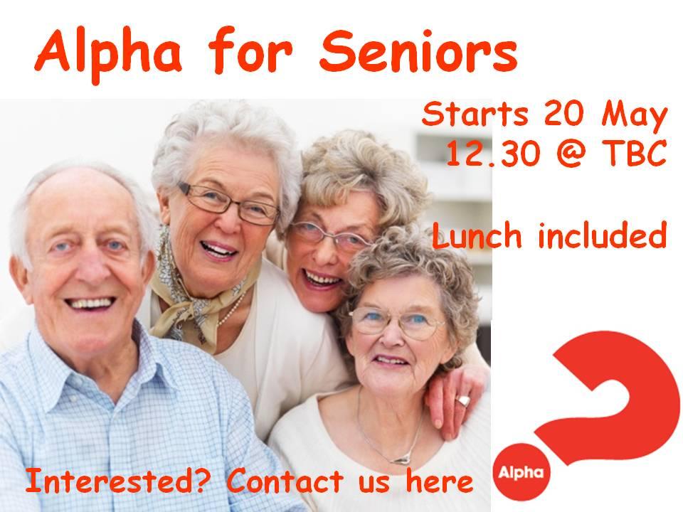 alpha senior