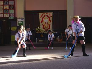 Girls Brigade indoor hockey