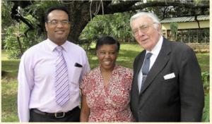 Daryl, Esther and John Green