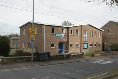 The Parish Centre from churchyard