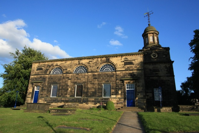 Exterior view of the north side of St Matthew's Church, facing Church Street
