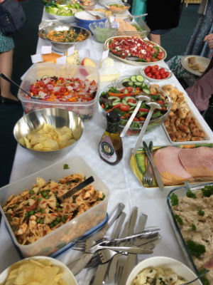 Anniversary lunch