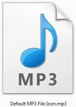 mp3 icon to show format of our recordings