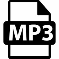 a symbol denoting a MP3 file
