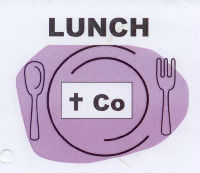 Scanned poor copy of the LUNCH  Co logo