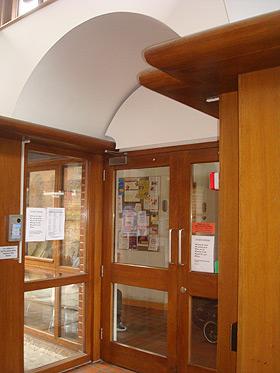 Hall door