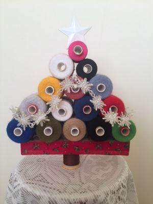 Yarn Reels Tree