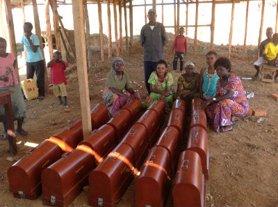 Womens Group and new sewing machines