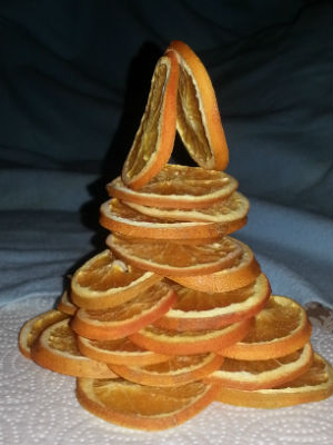 Orange Slice Tree by Julie Houghton