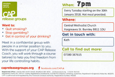 CAP Meeting info