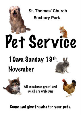 pet service poster