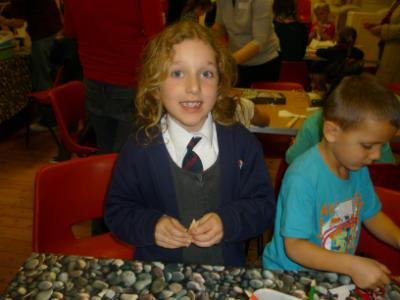 Tom Messy Church happy craft time