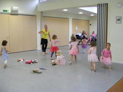 SJR Lantern combination with Ballet Tots