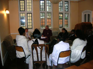 Meeting with Bishop Christopher