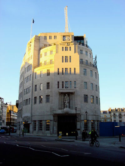 BBC Broadcasting House Building