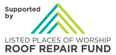 Church building work logo