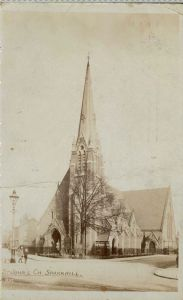 St Johns Church Sparkhill c1905