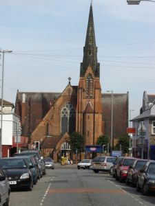 St Johns Sparkhill from Durham Road