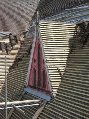 Sparkhill St John's Roof week 9