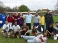 Football on Ealing Common