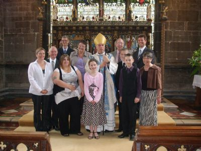 2010 Confirmation Group with Bishop