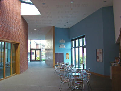 A view of the Foyer