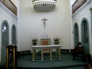 Interior of St Thomas of Canterbury Church