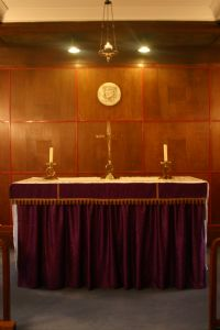Lady Chapel altar