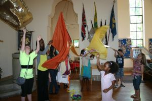 Children  celebrating Pentecost 09