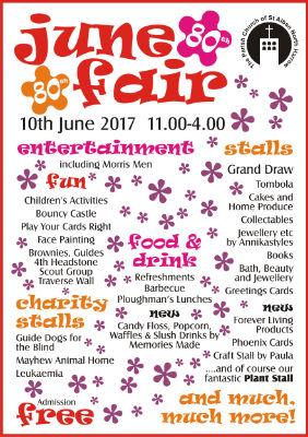 June Fair poster