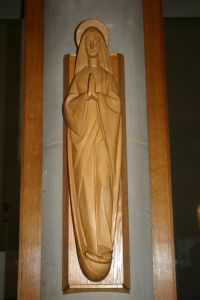 Lady Chapel carving