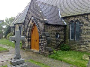 St Lukes Church entrance