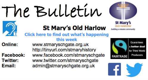 The Bulletin Click here to find out whats happening this week