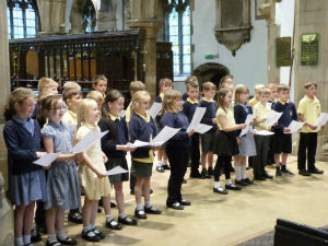 Overthorpe singing