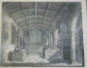 Savile Chapel prior to 1877