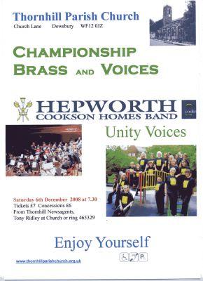 Hepworth  Unity poster 2008