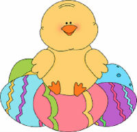 downloaded Easter chick
