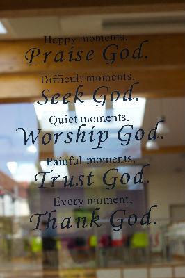 Praise God door